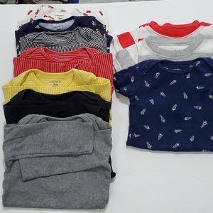 Carter's onesies bundle. Size 9M